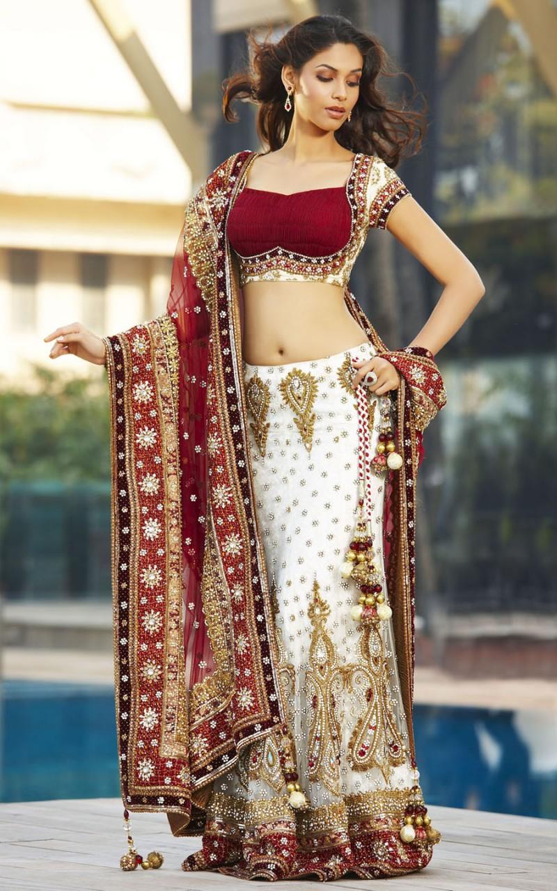 Indian bridal lehenga designer wedding gowns luxury women s fashion