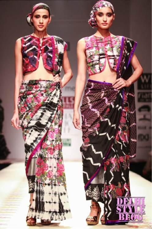 classic-saree-waistcoat-styling